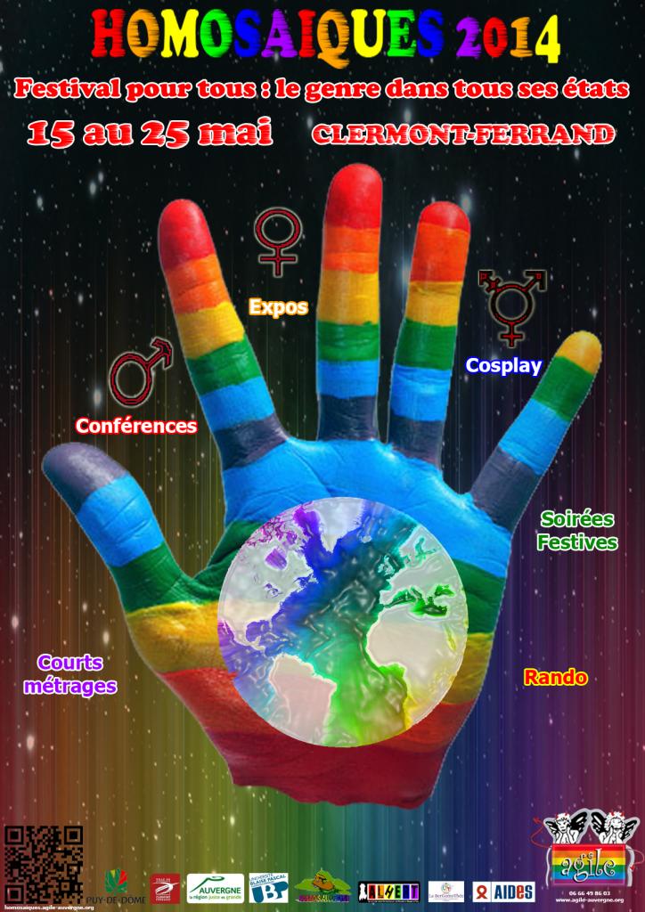 Édition 2014 du festival des Homosaïques